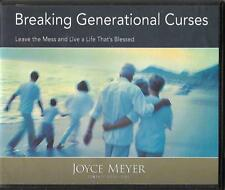 BREAKING GENERATIONAL CURSES      2 CDs   Joyce Meyer