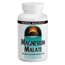 Magnesium Malate, 625mg x 200Caps, Source Naturals, Uk Stocks, 24Hr Dispatch