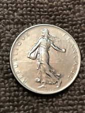 French 1 Franc Coin 1960