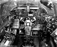 WW2 WWII Photo USAAF P-61 Black Widow Night Fighter Cockpit World War Two / 5797