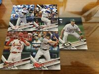 2017 Topps Update Complete 300 Card Base Set w/Judge/Bellinger/Voit/Chapman RC