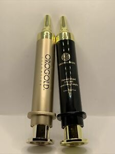 Orogold Deep Wrinkle Solution & Forever Flawless Lifting Complex Syringe No Box