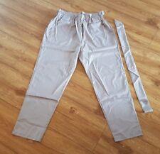 Brand New & Sealed Unbranded Beige size L (UK 12) Full Leg Length Trousers