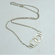 Jewelry Handcuffs Choker Pendant Necklace Women/Girl Lover Valentine'S Day Gifts