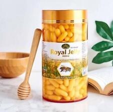 Nature's King Royal Jelly 1000 mg contains antioxidants vitamin A B C 365 caps