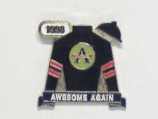 1998 - Breeders Cup Classic Winner - AEWSOME AGAIN Lapel pin in MINT Condition