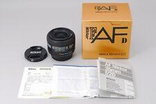 [Mint+++] Nikon NIKKOR 35mm f/2 D AF Wide Angle Lens w/Box From Japan #80