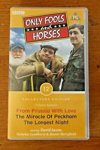 VHS Tape Only Fools & Horses 3 x Classic Episodes Collectors Edition 12 Prussia