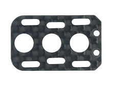 CLOSEOUT Microheli Carbon Fiber Board Mount (for MH Frame T-REX 150 DFC MH-TX150