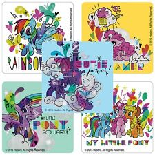 """12 My Little Pony Glitter Stickers, 2.5""""x2.5"""" ea., Party Favors"""