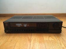 Technics SA-160 40-wpc Quartz Synthesizer FM/AM Stereo Receiver Equalizer 1988