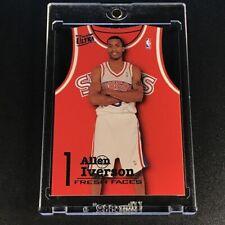 ALLEN IVERSON 1996 FLEER ULTRA #5 FRESH FACES DIE CUT ROOKIE RC 76ERS NBA HOF