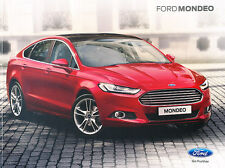 2015 Ford Mondeo 62-page Original UK Car Sales Brochure Catalog - Fusion