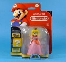 World of Nintendo - figurine Princesse Peach 11 cm + accessoire Mystère Neuve