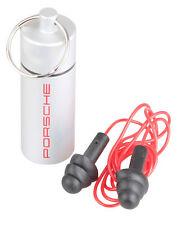 Porsche Motorsport ear plug key chain screw cap ear hearing protection