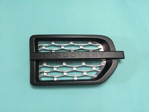 Side Vent Grille Performance Style For '04-'09 Land Rover Discovery 3 L319 BK/SL