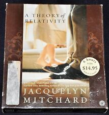 "CD Audio Book ""A Theory of Relativity"" JACQUELYN MITCHARD 6 Hours on 5 CDs"