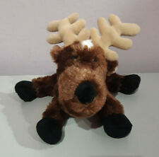 Ganz Webkinz Reindeer Christmas Plush Stuffed Animal Soft Toy