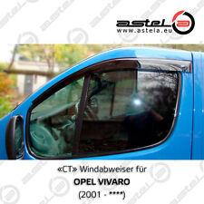 """""""CT"""" Windabweiser (window visors) 3M-Band für RENAULT TRAFIC II"""