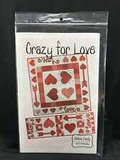 Crazy for Love Topper and Runner Quilt Pattern by Ribbon Candy Quilts