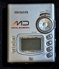 Aiwa am-f70 Mini-Disc player/recorder - near mint with orig. box w/discs!