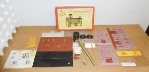 KORBER MODELS O SCALE #920 SOREGUM CANDY COMPANY BUILDING KIT LAYOUT STRUCTURE