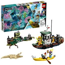 Lego Hidden Side Wrecked Shrimp Boat 70419 Building Toy 310 Pieces