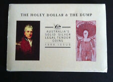 1989 THE HOLEY DOLLAR & THE DUMP SILVER COIN SET