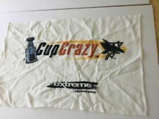 San Jose Sharks 1990's Stanley Cup Rally Towel Extreme Networks