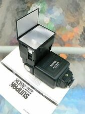 SUNPAK AUTO 36DX FLASH CANON for CANON AE-1 AE-1P A-1 AT-1 F-1N *W/ INSTRUCTIONS