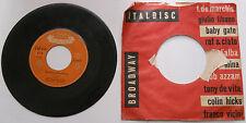 45 GIRI CALYPSO LITTLE DARLING - THE BANANA BOAT SONG      2/17