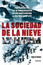 La Sociedad de La Nieve (Paperback or Softback)