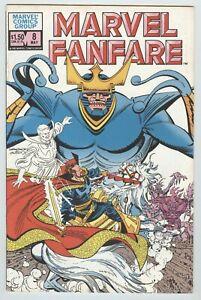MARVEL FANFARE.NUMBER 8.MAY 1983.MARVEL COMICS