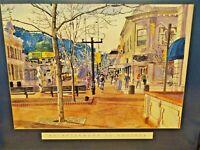 Boulder Scene Signed by Barbara Froula Beautiful Framed Original Giclee Print