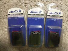 New listing Three Marlin blued 4 round 22 wmr mag 17 hmr magazine clip
