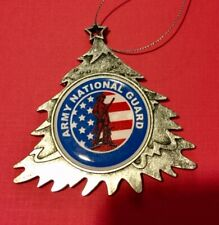 NATIONAL GUARD RESERVE FORCE  CHRISTMAS TREE ORNAMENT PERSONALIZED & SHIP FREE