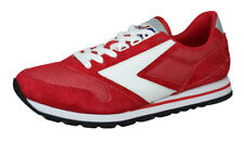 Brooks Chariot Mens Vintage Trainers Retro Sneakers Shoes Red