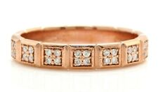 .21 Ct Natural VS2-2SI1 DIAMONDS in 14K Solid Rose Gold Women Engagement Ring