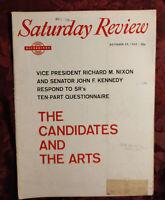 Saturday Review October 29 1960 ALAN JAY LERNER FREDERICK LOEWE John Cournos