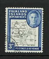 Falkland Islands SG# G13a Used / Dot in T - S6051