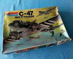 MONOGRAM® 1/48 C-47 SKYTRAIN D-Day #5603 ©1978.