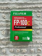1 pack Fuji Fp-100C professional instant color film Exp. 10-2018 Cold Stored
