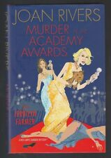 Murder at the Academy Awards by Jerrilyn Farmer & Joan Rivers (2009, HC), Signed