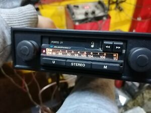 Vintage Blaupunkt Car Radio Porto 21 P1458880 Working