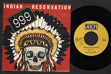 "7"" 999 NINE NINE NINE INDIAN RESERVATION / SO GREEDY / TABOO ITALY 1981 CASH"