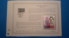FRANCE DOCUMENT ARTISTIQUE YVERT 2456 HALPERN MEDECIN PARIS 1987  L531