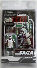 "BIKER SCOUT Star Wars ROTJ The Saga Collection Vintage 3 3/4"" inch Figure 2006"