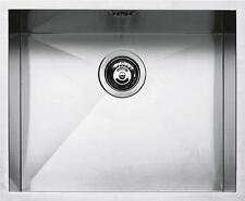 BARAZZA lavello 1 vasca quadra sottotop 1Q5040S raggio 0