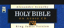 COMPLETE AUDIO BIBLE KJV King James Version 62 CD SET - SCOURBY (Voice Only)