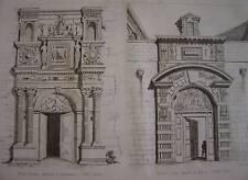 Gravure Porte maison à TOULOUSE  Porte Hôtel à DIJON